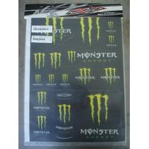 Calcos Kawasaki Monster Accesorios Atv Utv Cuatriciclo Moto