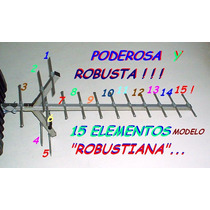 Antena Tda Tdt Poderosa Para La Nueva Tv Digital De Lujo Hd