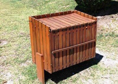 Canastos para la basura naturales en madera 1250 b0evk - Cestos de madera ...