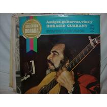 Longplay Disco Vinilo Horacio Guarany Amigos Guitarra Y Vino