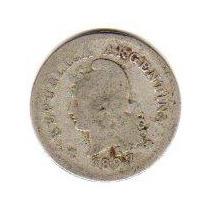 Moneda Niquel 10 Centavos Año 1897 Oferta