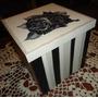 Caja Regalo Personalizada Pintada A Mano En Madera