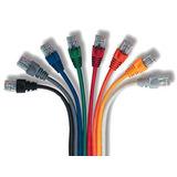 Cable De Red Utp Patchcord 50 Centimetros Rj45 Cat 5e