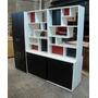 Divisor Ambiente Biblioteca Monoambientes Baulera Y Placard