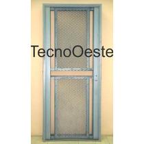 Puerta Reja Hierro Seguridad Maya De Acero 80x200 Reforzada