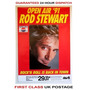 Rod Stewart .- Afiche / Poster Original Tour 1991 Alemania