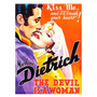 The Devil Is A Woman, Con M. Dietrich, Lamina De 40 X 30 Cm