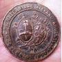 Homenaje A España Municipalidad Del Rosario Medalla Año 1900