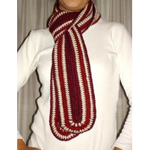 Bufandas Tejidas A Mano - Crochet O Dos Agujas - Unicas!!