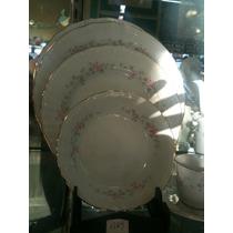 Plato Playo De 25cm. Porcelana Tsuji. Modelo 1269