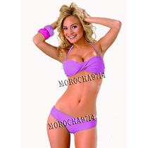 Malla Bikini Bando Torzado Tasa Soft Envio Gratis Cap Fed