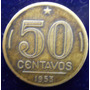 50 Centavos Brasil 1953 Presidente Dutra