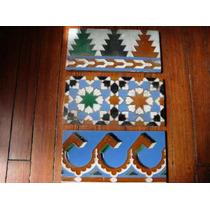 Antiguos Azulejos Sevilla España Mensaque Morisco