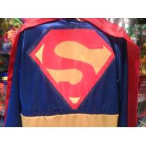 Disfraz De Superman Talle 6 A 8 Años Halloween Dia Niño