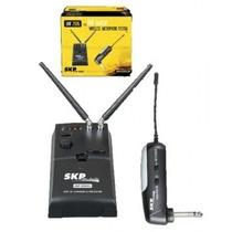 Micrófono Inalábrico Skp Uhf 2000g P/guitarra