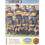 Antiguo Poster Boca Campeon 1962