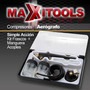 Aerografo Simple Accion Kit Frascos Manguera Acoples! Oferta