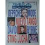 Revista Pelo Nº 343, Poster Rolling Stones. Depeche Mode
