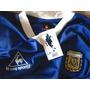 Camiseta Argentina Suplente 1986 Maradona Campeon En Mexico
