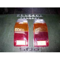Lentes Traseros Peugeot 504 Familiar
