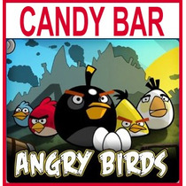 Kit Imprimible Angry Birds Candy Bar Golosinas Souvenirs