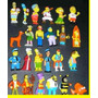 Coleccion De 24 Muñequitos Chocolatin Jack Simpsons 2007