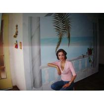 Murales En Paredes,pintados En Acrilicos Y Oleos