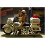 Espectacular Moto De Policia