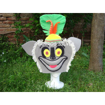 Lemur Gorro Cotillon Goma Espuma