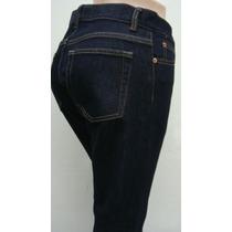 Gap Pantalon Mujer T2 Jean Elastizado Azul (cintura 76cm)