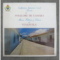 Guillermo Jimenez Leal - Folklore De Cámara - Lp Nacional