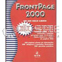 Manual / Libro De Computacion. Frontpage 2000. Editorial Gyr