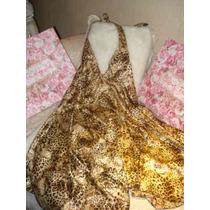 Vestido Raso Print Marca Las Rozas Sexyescote Marilyn Fiesta