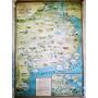 1939 Buenos Aires Curioso Mapa Vial, Turístico, Económico