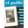 El Grillo Revista De Cultura Nº1 Dirigida Por C Grinbaum