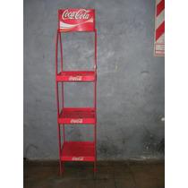 Coca Cola Exhibidor Metalico Retro