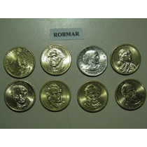 Robmar-324-usa-monedas De 1 Dolar A Elejir Del 1979 Al 2015