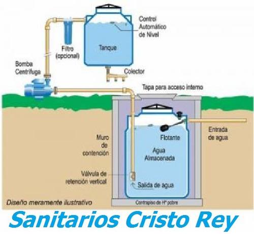 Autom tico para tanque de agua cisterna otros a ars for Cisternas de agua a domicilio