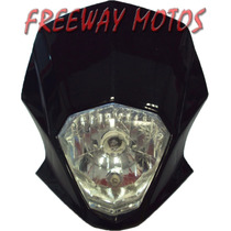 Mascara Cubre Optica Motomel Motard 200 Comp Freeway Motos