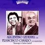 Francisco Canaro Con Argentino Ledesma Cd: Homenaje A Gardel