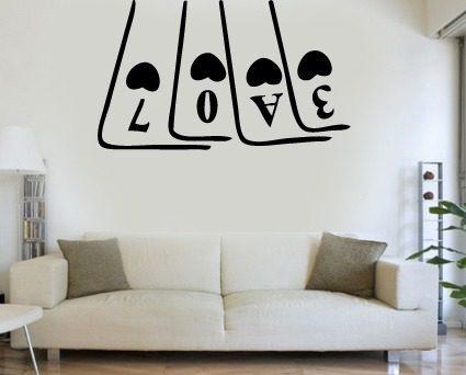 Vinilos frases para armar y decorar vinilos decorativos - Pintar paredes con dibujos ...