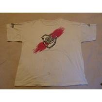 Antigua Remera De River Plate Rivermanía 1989