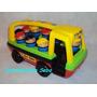 Colectivo Baby Bus Con Muñecos Encastrables Mater Didáctico