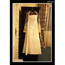 Vestido De Novia En Shantu De Seda Natural Frances