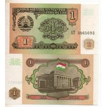 Tajikistan 1 Rublo Año 1994 S/c Bm 2128