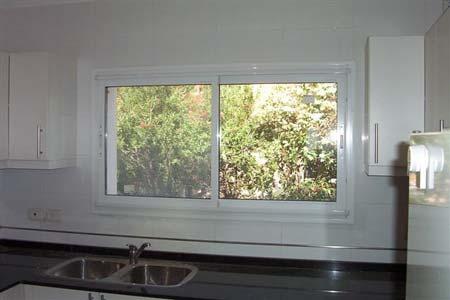 Ventana blanca doble vidrio 4 9 4 5740 for Aberturas de aluminio blanco precios rosario