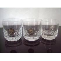 Lote De 3 Vasos De Whisky