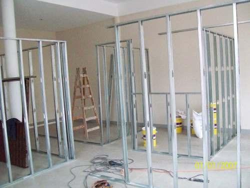 Colocacion de durlock 15 5700 5722 jorge zona oeste construcci n en seco a ars 1 en - Como colocar pladur en techo ...