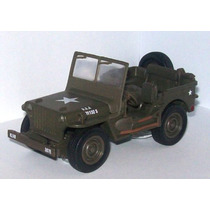 Jeep Willys Replica Escala 1/32 De Metal ***original***