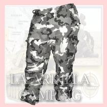 Pantalon Tactico Cargo Militar Camuflado Desert Storm